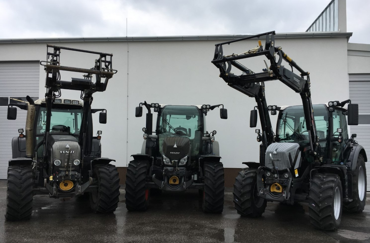 Vermietung – Traktoren